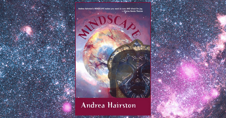 Blog Post Featured Image - QUILTBAG+ Speculative Classics: Mindscape by Andrea Hairston