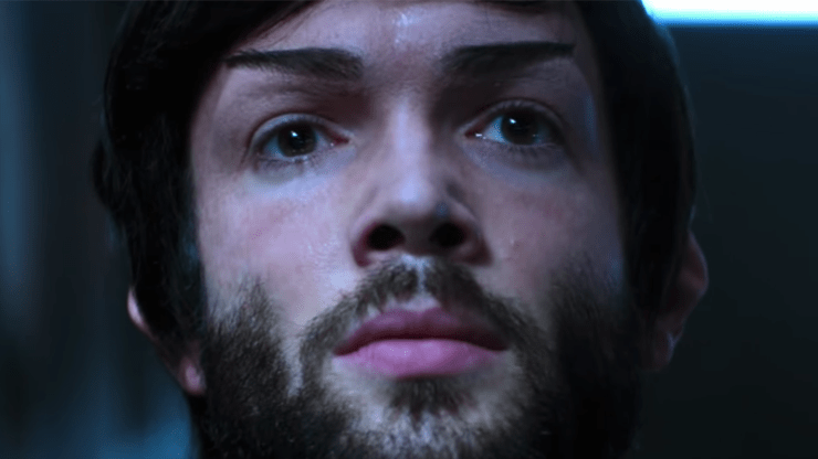Ethan Peck as Spock in Star Trek: Discovery