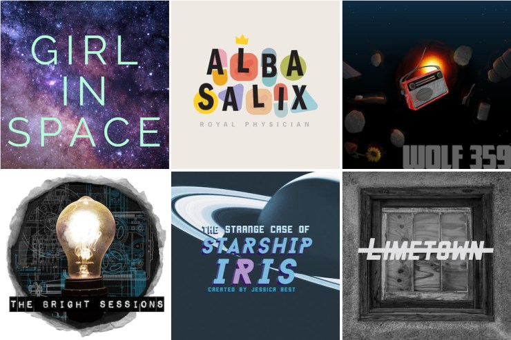 SFF audio dramas Girl in Space Wolf359 Alba Salix The Bright Sessions Limetown The Strange Case of Starship Iris