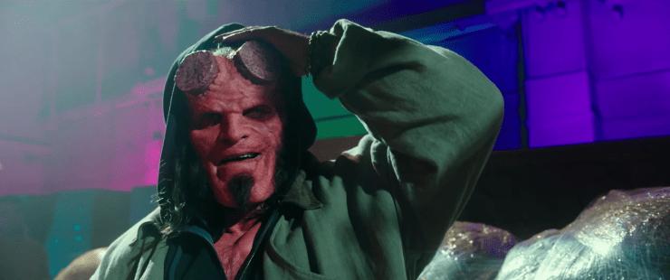Hellboy reboot trailer David Harbour
