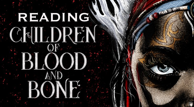 Blog Post Featured Image - Reading Children of Blood and Bone: Chapters 1-8
