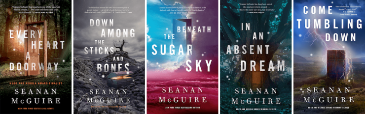 Seanan McGuire Wayward Children series
