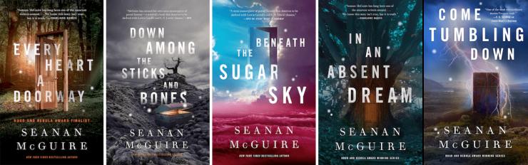 Seanan McGuire Wayward Children series