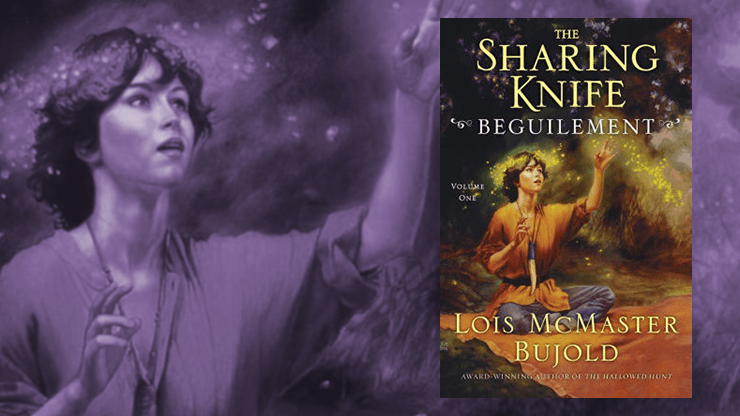 Blog Post Featured Image - The Perfect Blend of Adventure and Romance in The Sharing Knife: Beguilement by Lois McMaster Bujold