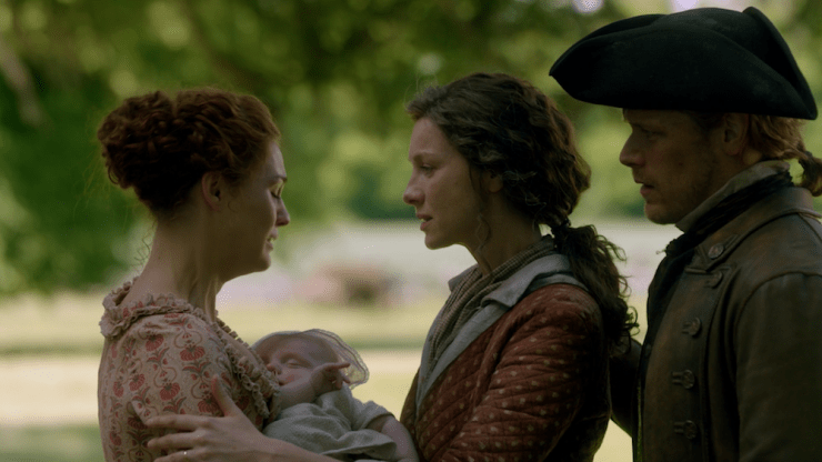 "Outlander season 4 finale ""Man of Worth"" Roger Brianna Stephen Bonnet Jamie Claire"