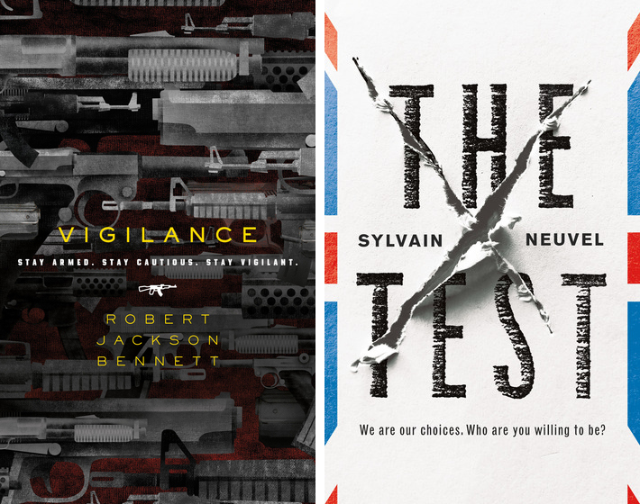 "Blog Post Featured Image - Vigilance and The Test ""Near-Future"" Sweepstakes!"