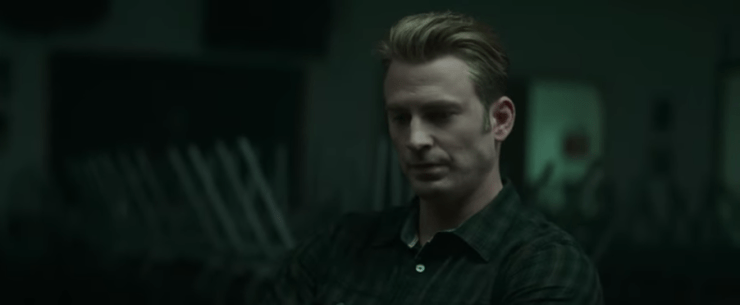 Avengers: Endgame Super Bowl trailer Steve support group where do we go now that they're gone
