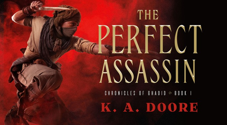 Blog Post Featured Image - An Explosive Debut: The Perfect Assassin by K.A. Doore