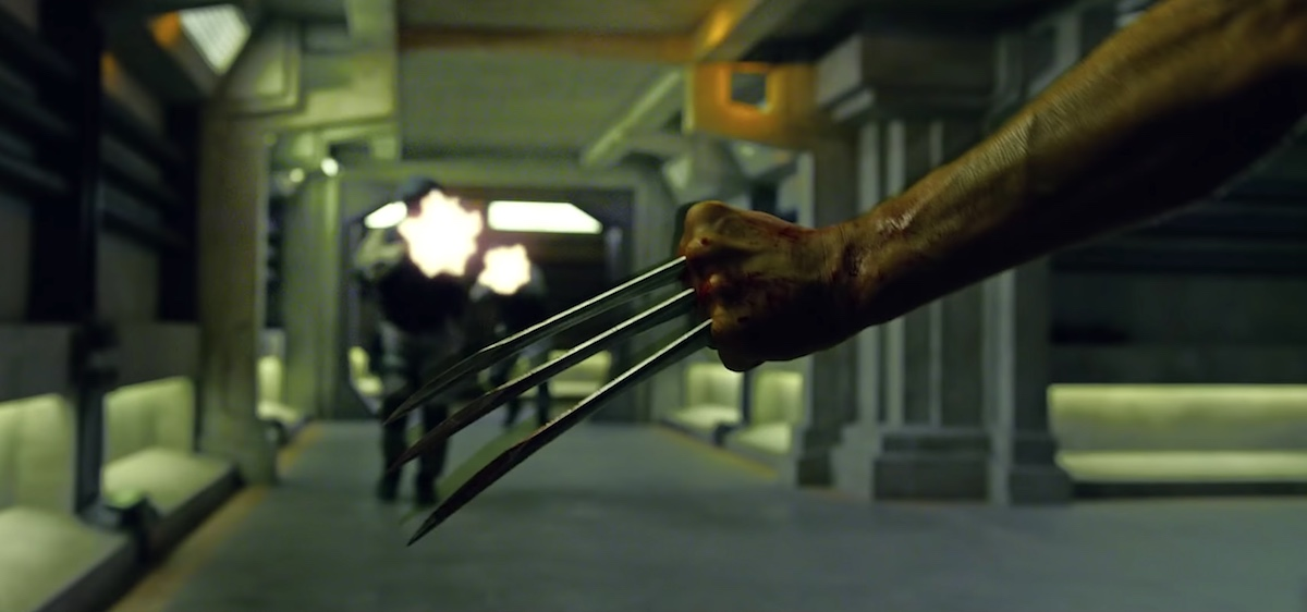 Wolverine claws X-Men Apocalypse