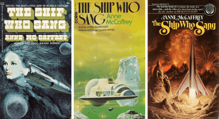 Love, Loss, and Adventure: The Ship Who Sang by Anne McCaffrey