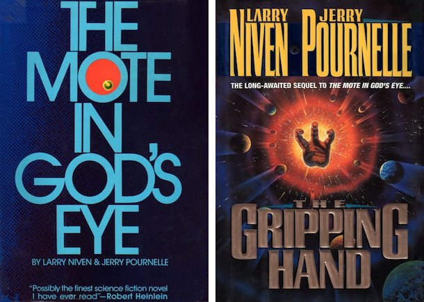 Blog Post Featured Image - First Contact Goes Awry: The Mote in God's Eye and The Gripping Hand by Larry Niven and Jerry Pournelle