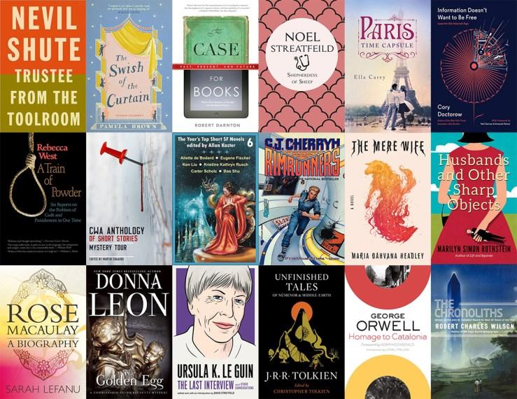 Jo Walton March 2019 reading list