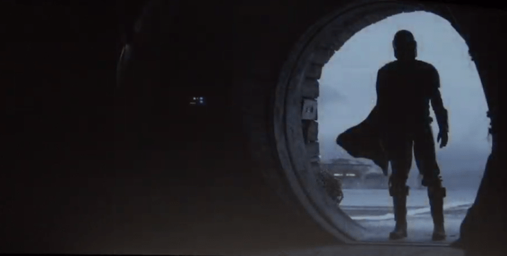 The Mandalorian, television preview, Star Wars Celebration