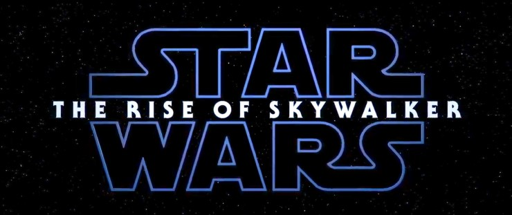 Star Wars Episode 9 The Rise of Skywalker logo
