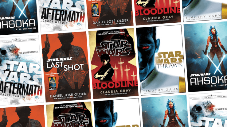Blog Post Featured Image - 9 Canonical Star Wars Books for Every Fandom Need