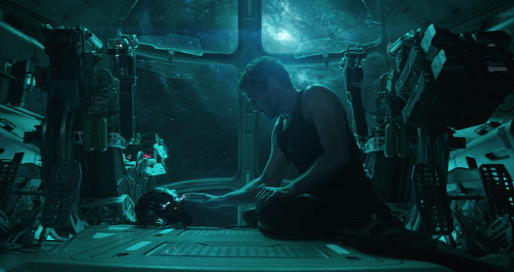 Avengers: Endgame Marvel Cinematic Universe what rewards do superheroes deserve Tony Stark rest
