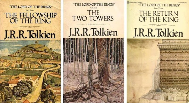 Lord of the Rings covers