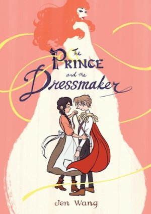 The Prince and the Dressmaker cover, Jen Wang