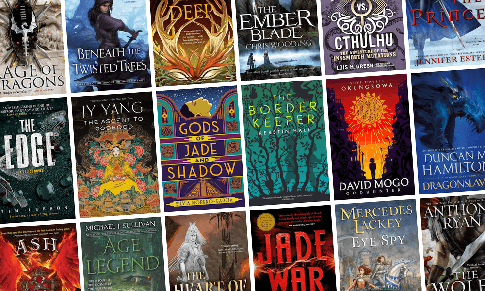 All The New Fantasy Books Coming in July!   Tor com