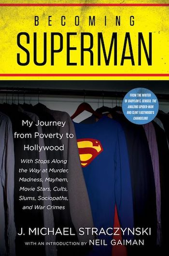 Becoming Superman, cover
