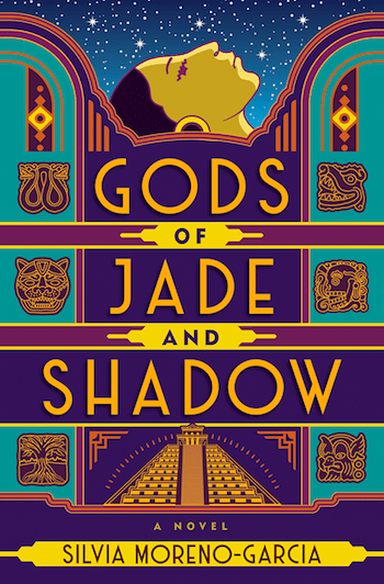 Gods fo Jade and Shadow, cover, Silvia Moreno-Garcia