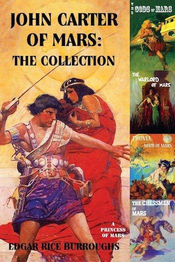 John Carter of Mars, Edgar Rice Burroughs, cover