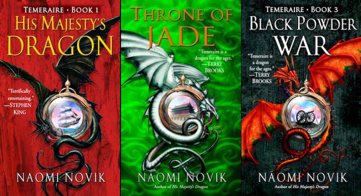 expansive SFF series 9+ books Temeraire Naomi Novik