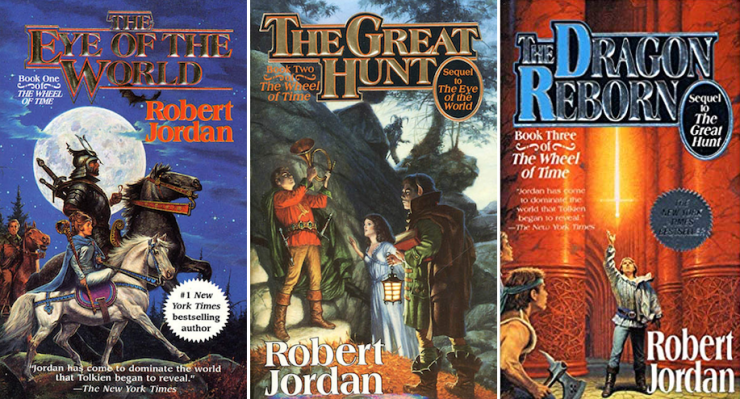 expansive SFF series 9+ books Wheel of Time