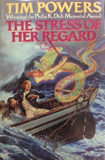 The Stress of Her Regard, Tim Powers, cover