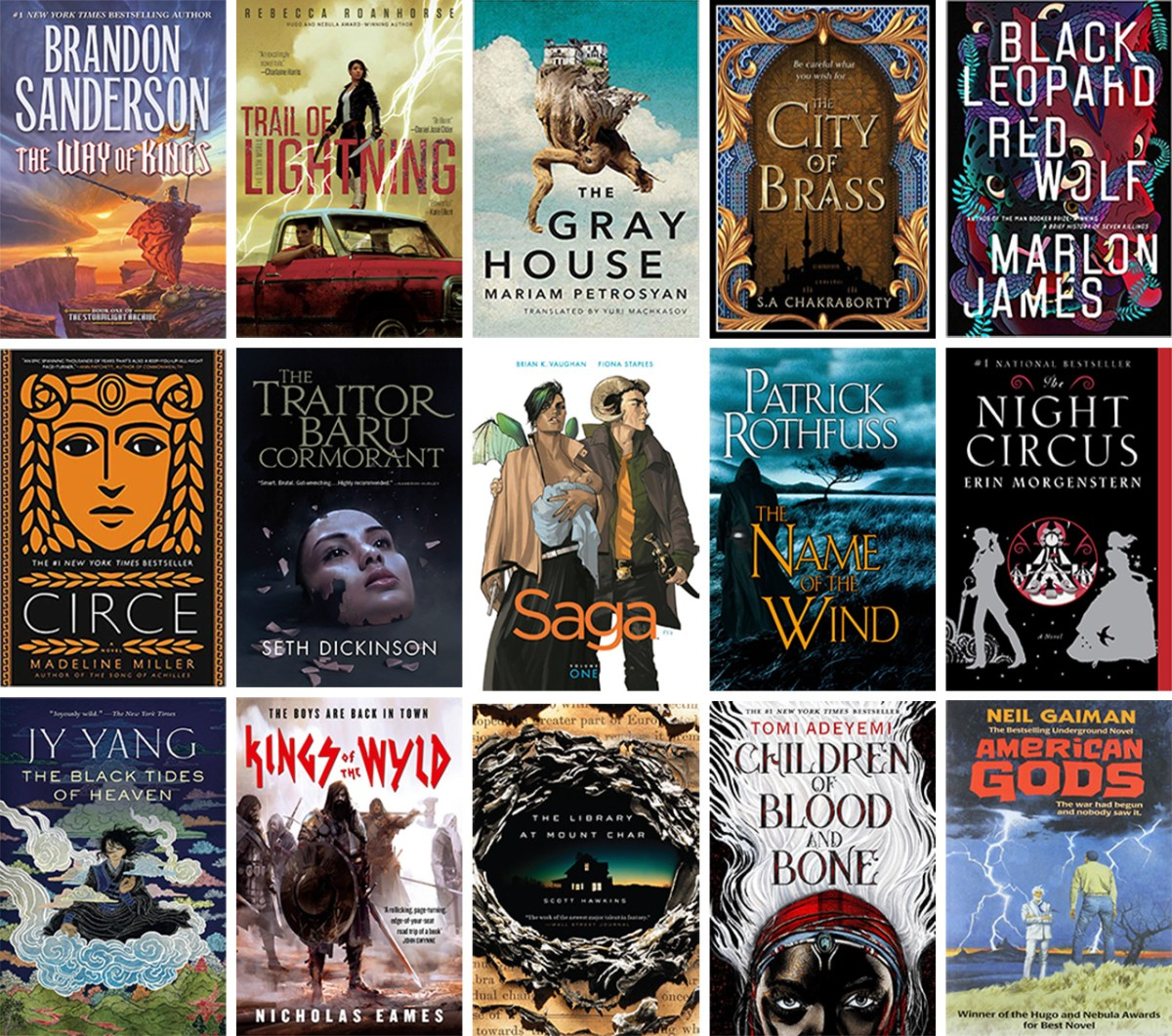 Here are the 100 Most Discussed Fantasy Books on Reddit