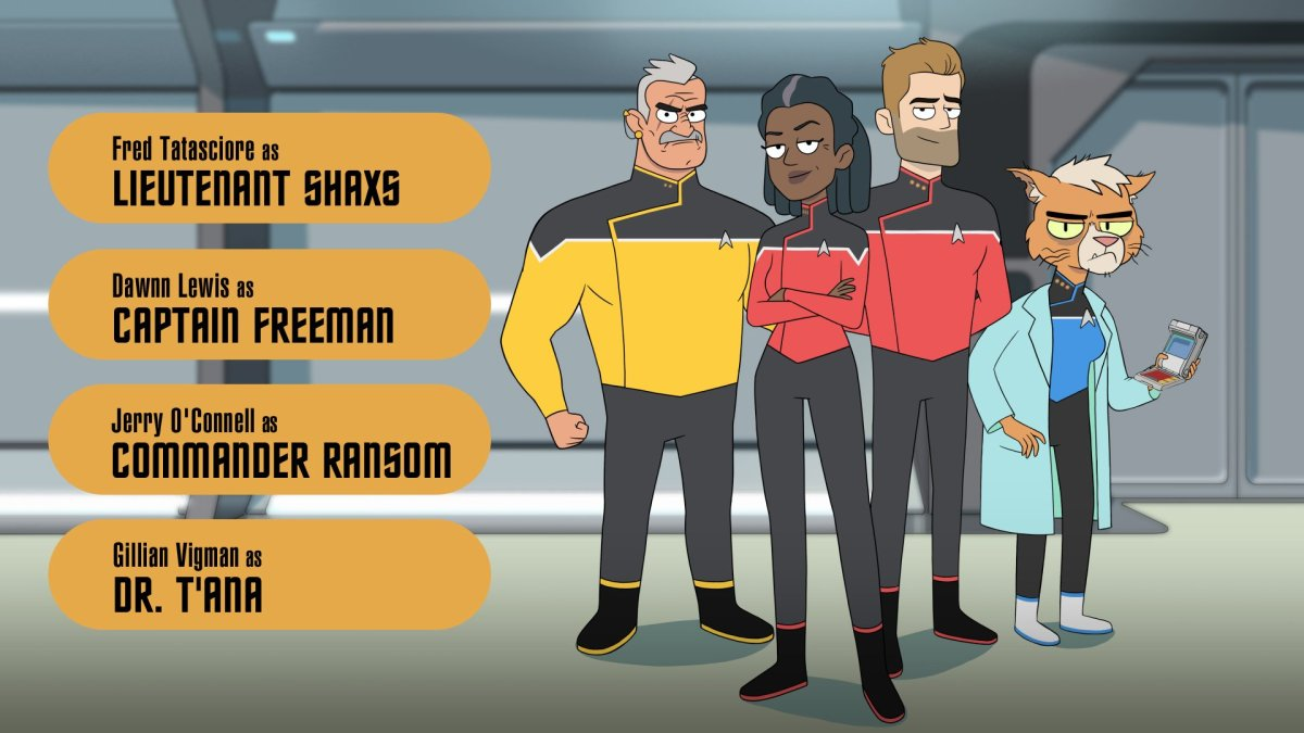 Star Trek: Lower Decks Really Does Look Like Rick and Morty
