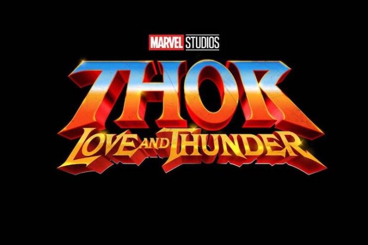 Thor: Love and Thunder logo, Marvel Studios