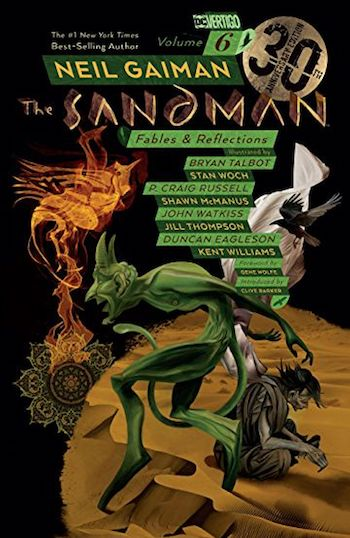 The Sandman: Fables and Reflections, cover