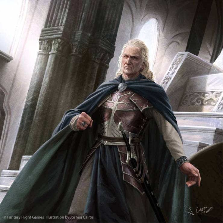 Blog Post Featured Image - Exploring the People of Middle-earth: Denethor II, Steward of Gondor