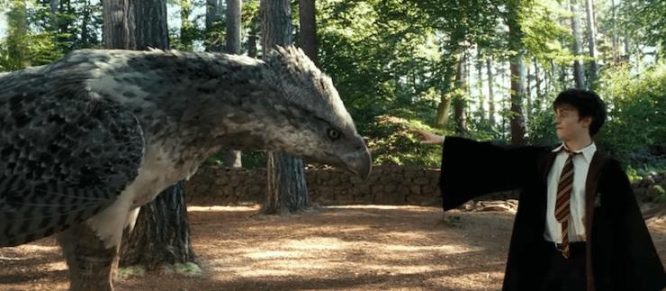 Harry Potter and the Prisoner of Azkaban, Buckbeak
