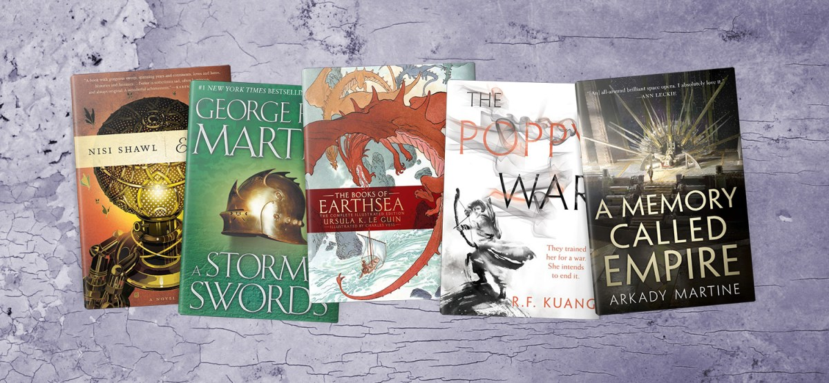 Five Fantasy Books Steeped in History