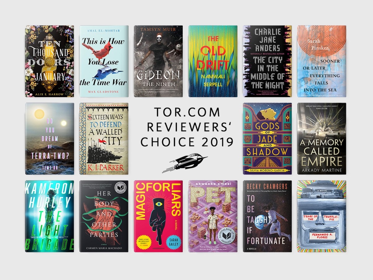 Tor.com Reviewers' Choice: The Best Books of 2019