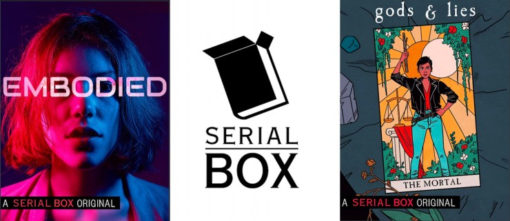 Blog Post Featured Image - Serial Box Is Launching Three New SFF Mystery Series — Get a Sneak Peek at Gods & Lies by Elizabeth Vail!