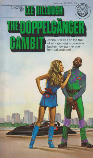 Book Cover: The Doppelgänger Gambit
