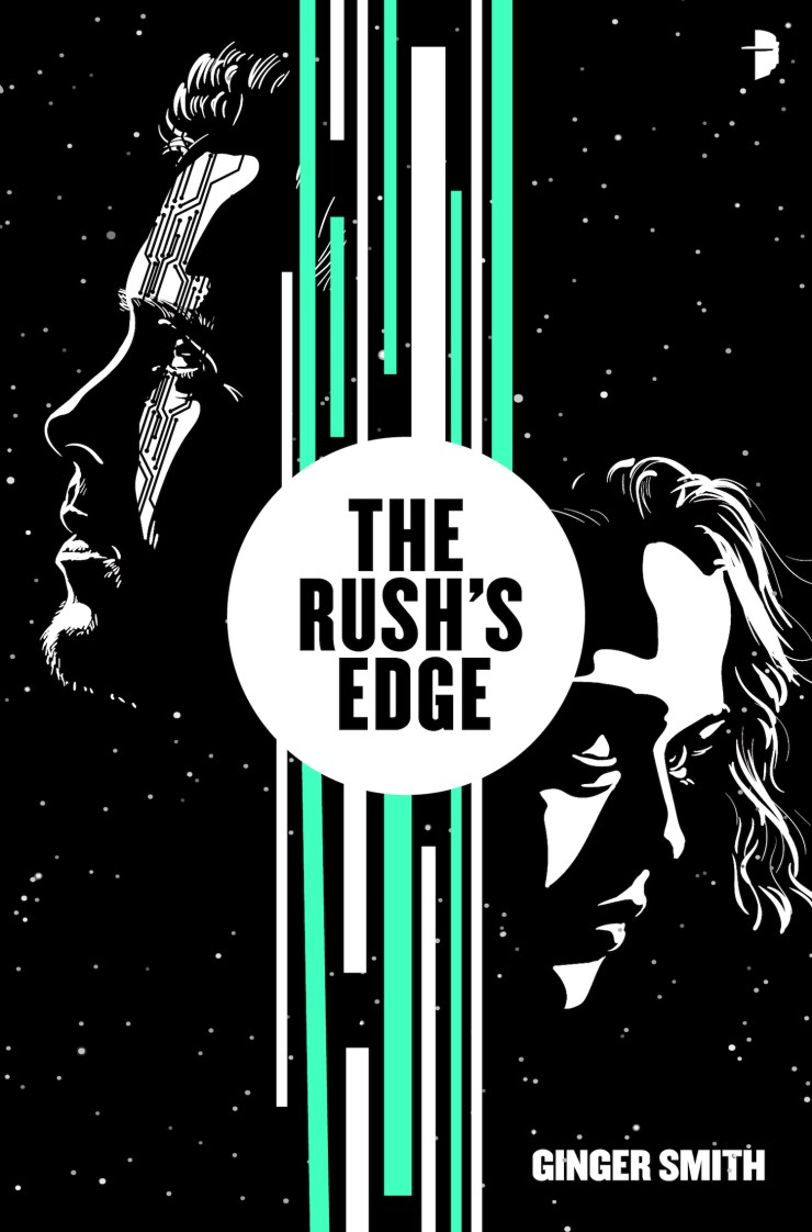 Book cover: The Rush's Edge by Ginger Smith