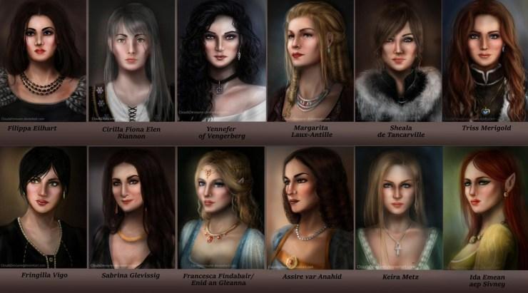 Fan art of the Lodge of Sorceresses