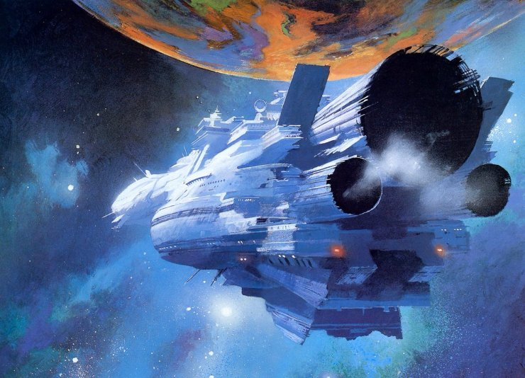Blog Post Featured Image - Five SF Works Involving Epic Space Journeys
