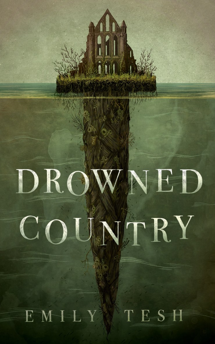 Book cover: Drowned Country by Emily Tesh
