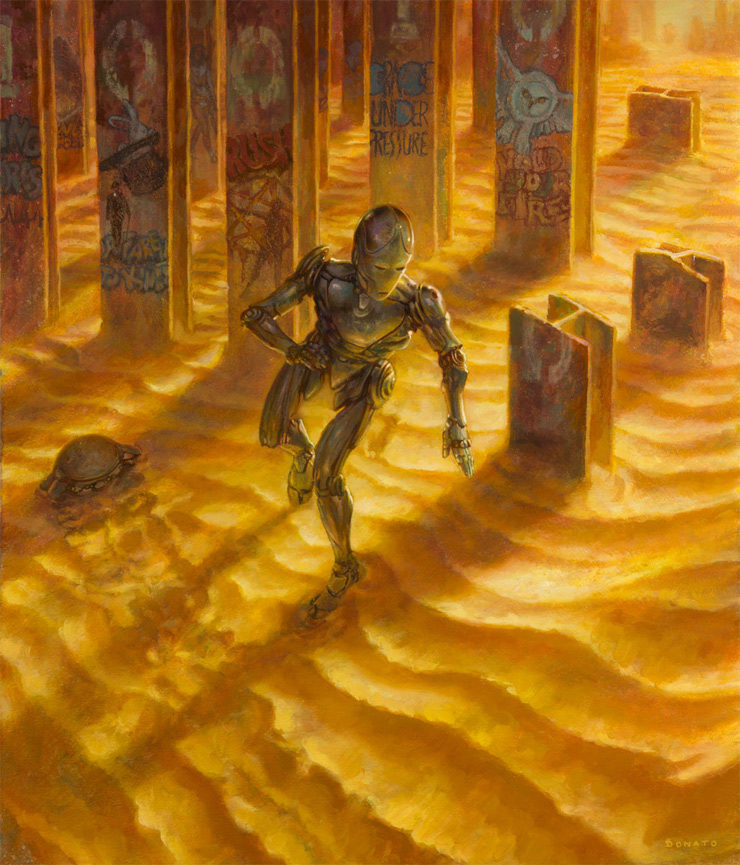 """The Body Electric"" by Donato Giancola"