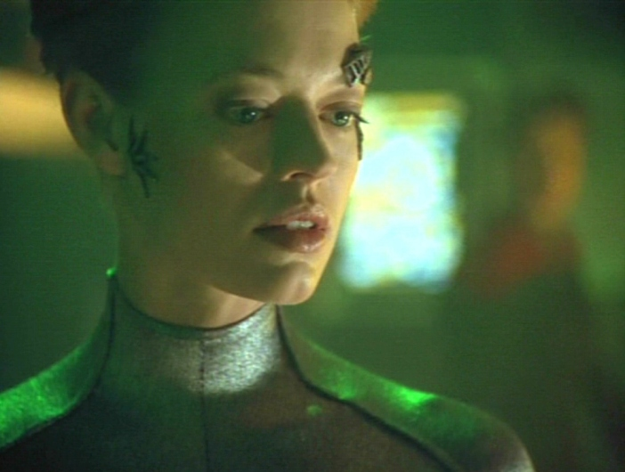Seven of Nine (Jeri Ryan) in Star Trek: Voyager