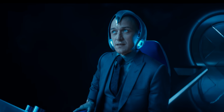 Charles Xavier (James McAvoy) in X-Men: Dark Phoenix