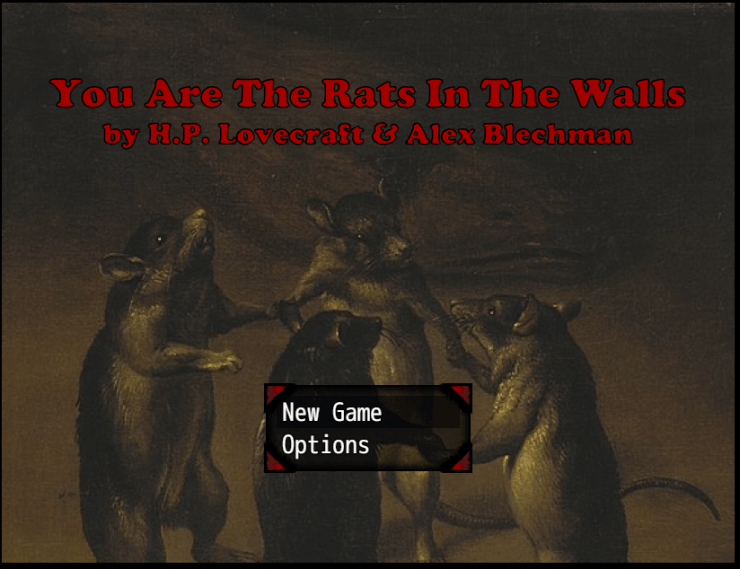 "Blog Post Featured Image - It's Very Wrong to Do Cannibalism: Alex Blechman's ""You Are the Rats in the Walls"" Video Game"