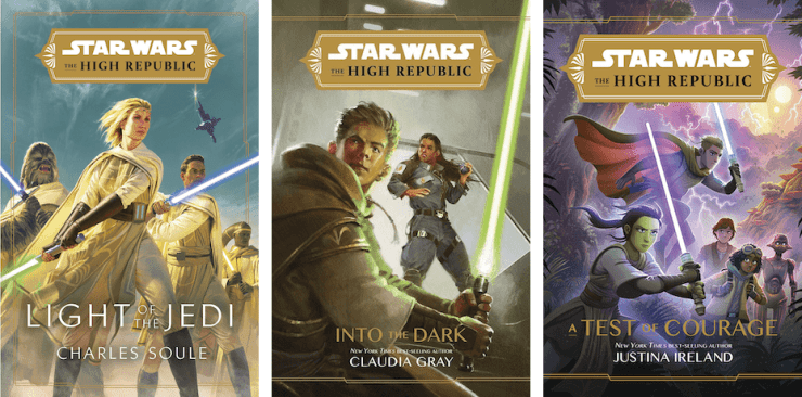 Star Wars: The High Republic book covers