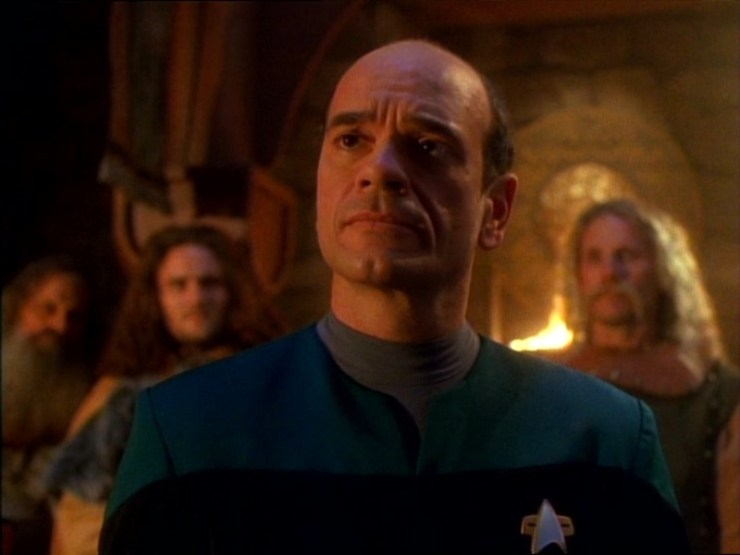 """Blog Post Featured Image - Star Trek: Voyager Rewatch: """"Heroes and Demons"""""""