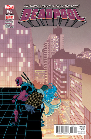 Deadpool The Neverending Struggle comic cover